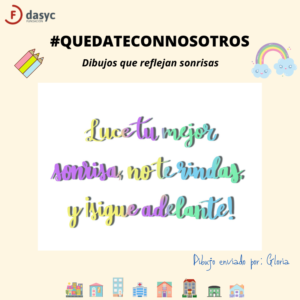 #QUEDATECONNOSOTROS - Dibujos8